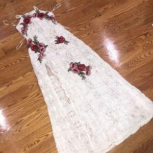 Maxi Skirt/Crop Top Set